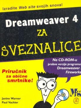 Dreamweaver 4 za sveznalice
