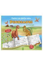 Dinosauri : Posteri za dječju sobu za bojanje