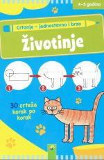 Životinje – crtanje jednostavno i brzo