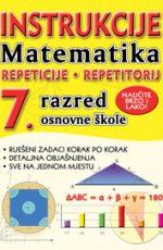 Instrukcije iz matematike za 7. r. os. škole