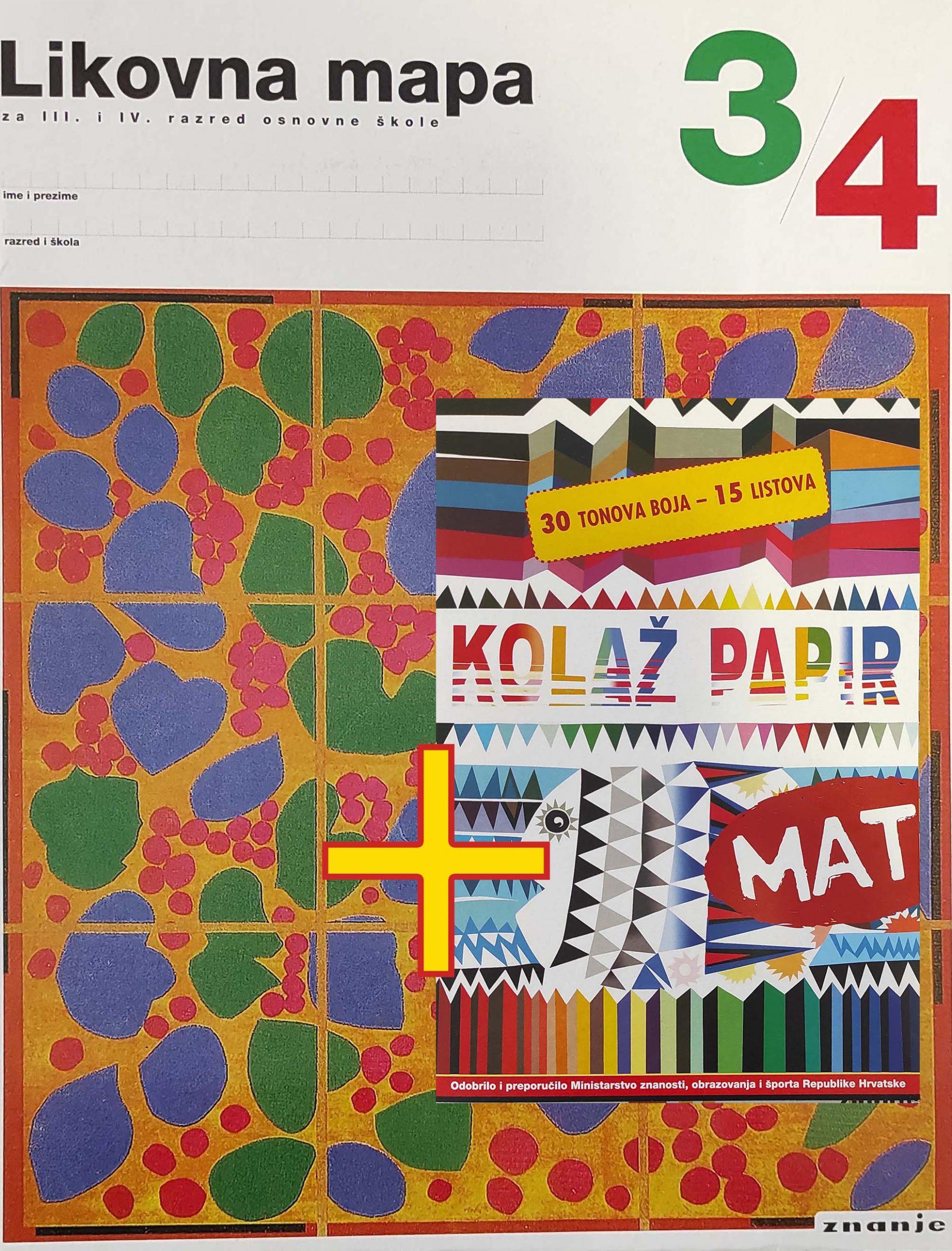 Mapa 3-4 Kolaž