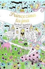 Princezina tajna - čarobna bojanka