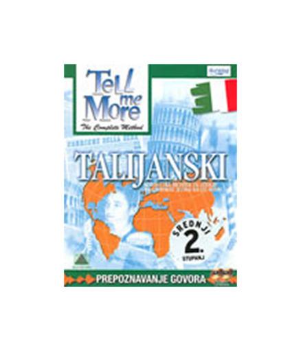 Tell Me More – Talijanski srednji (2.stupanj) CD