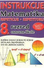 Instrukcije iz matematike za 8. r. os. škole